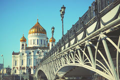 Cathedral of Christ the Saviour Royalty Free Stock Photography