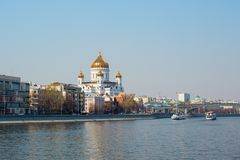 Cathedral of Christ the Saviour. Russia,Moscow Royalty Free Stock Photography