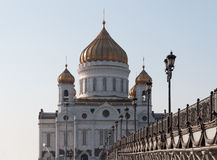 Cathedral of Christ the Saviour. Russia,Moscow Stock Photography