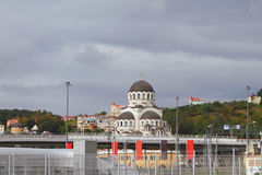 Cathedral of Christ Saviour, Sochi royalty free stock photography
