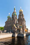 Cathedral of Christ the Saviour in St Petersburg, Russia Royalty Free Stock Images
