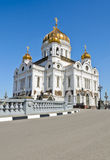 Cathedral of Christ the Saviour in sunny day Royalty Free Stock Images