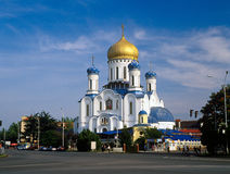 Cathedral of Christ the Saviour in Uzhhorod, Ukraine. Stock Image