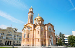 Cathedral of Christ the Saviour Royalty Free Stock Images