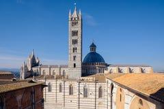 Cathedral church aka Duomo di Siena in Siena, Italy Stock Photo