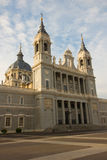 Cathedral church Almudena, Madrid, Spain Stock Photography