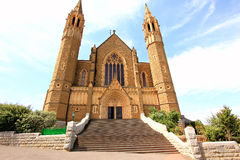 Cathedral church in Australia Royalty Free Stock Image
