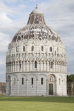 Cathedral Church Baptistry; Pisa Stock Images