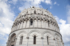 Cathedral Church Baptistry; Pisa Royalty Free Stock Photos