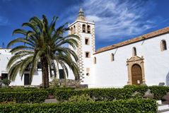 Cathedral Church Betancuria Fuerteventura stock image