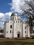 Cathedral. The Church in Chernigov city Park Stock Photos