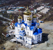 Cathedral Church city of Nakhodka Royalty Free Stock Photos