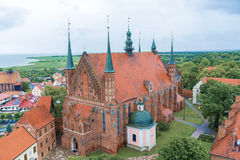 Cathedral church in Frombork Stock Photography