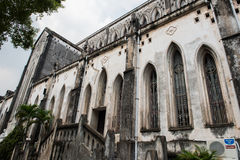 Cathedral Church in Hanoi Royalty Free Stock Photography