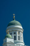Cathedral church in Helsinki. Finland Royalty Free Stock Photography