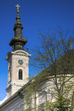Cathedral Church of the Holy Great-Martyr George in Novi Sad, Se Royalty Free Stock Photography