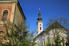 Cathedral Church of the Holy Great-Martyr George in Novi Sad, Se Stock Images