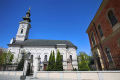Cathedral Church of the Holy Great-Martyr George in Novi Sad, Se Stock Photo