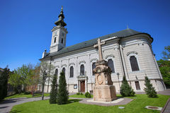 Cathedral Church of the Holy Great-Martyr George in Novi Sad, Se Royalty Free Stock Image