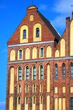 Cathedral Church in Kaliningrad. Stock Image