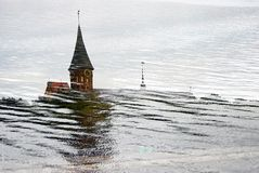 Cathedral Church on Kant island, Kaliningrad Stock Photos