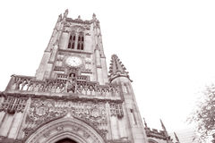 Cathedral Church, Manchester, England Stock Images