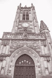 Cathedral Church, Manchester, England Stock Photo