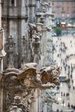 Beautiful Milan catheral catholic church Duomo di Milano stock photos