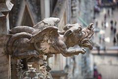 Beautiful Milan catheral catholic church Duomo di Milano royalty free stock image
