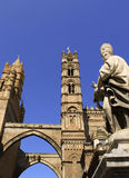 Cathedral church in Palermo Royalty Free Stock Photo