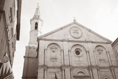 Cathedral Church in Pienza; Tuscany; Italy Stock Photo