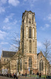 Cathedral church in Rotterdam, Netherlands. Stock Images