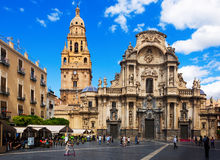 Cathedral Church of Saint Maria in Murcia Stock Photo