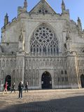 Cathedral Church of Saint Peter in Exeter, Devon, UK stock image