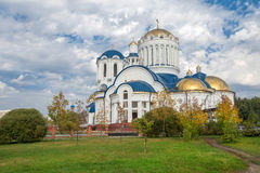 Cathedral Church of the Saints in Bibirevo Stock Image