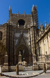 Cathedral church of Seville, Spain Royalty Free Stock Photo