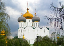 Cathedral Church of the Smolensk Icon of the Mother, Moscow Stock Image