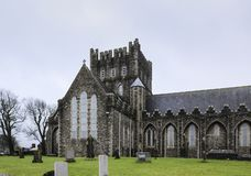 The Cathedral Church of St. Brigid in Kildare. Church of Ireland. Irish Gothic style stock images