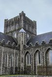 The Cathedral Church of St. Brigid in Kildare. Church of Ireland. Irish Gothic style stock photo