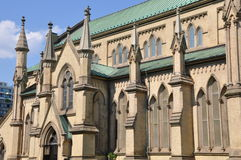 Cathedral Church of St. James in Toronto Royalty Free Stock Images