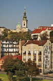 Cathedral Church of St. Michael the Archangel in Belgrade. Serbia Stock Photo