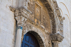 Cathedral Church of St. Nicola. Bari. Puglia. Italy. Stock Photo