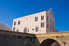 Cathedral Church of St. Nicola. Bari. Puglia. Italy. Stock Photos
