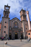 Cathedral church in Tijuana Royalty Free Stock Images