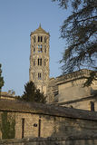 Cathedral Church, Uzes, Provence, France. Cathedral Church in Uzes, Provence, France, Europe Royalty Free Stock Photo