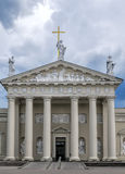 Cathedral church in Vilnius Royalty Free Stock Photography