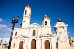 Cathedral of Cienfuegos, Cuba Stock Photos