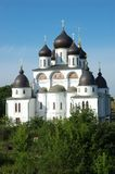 The cathedral in citadel of Dmitrov town Stock Image