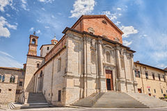 Cathedral of Città di Castello, Perugia, Umbria, Italy Royalty Free Stock Photos