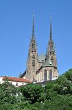 Cathedral in the city of Brno, Czech Republic, Europe Stock Photos